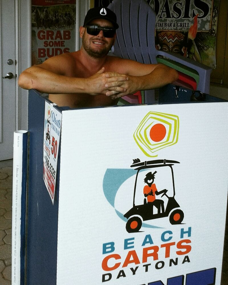 Beach Carts Daytona: 313 S Atlantic Ave, Daytona Beach, FL