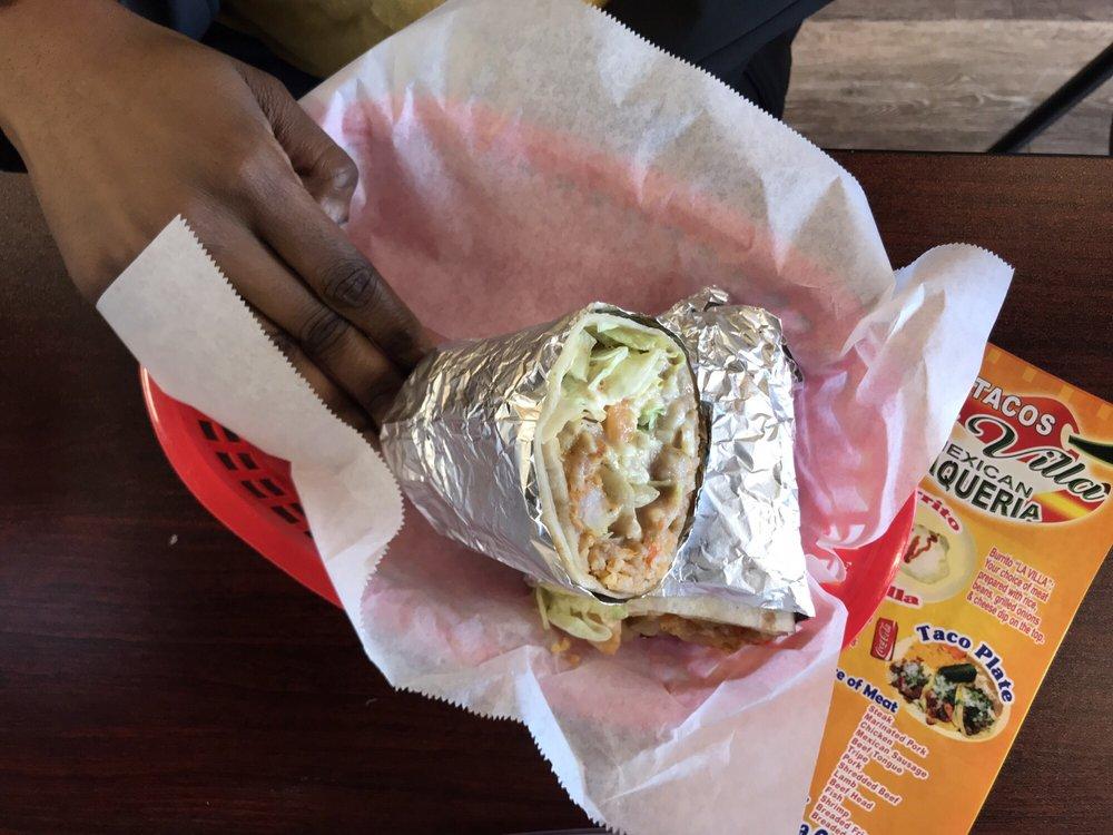Food from Tacos La Villa 2