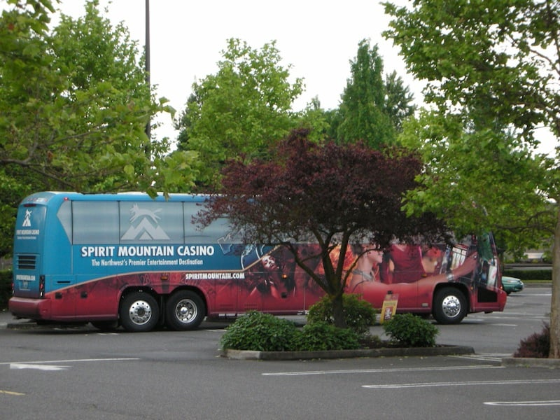 Spirit mountain casino bus casino city videopoker
