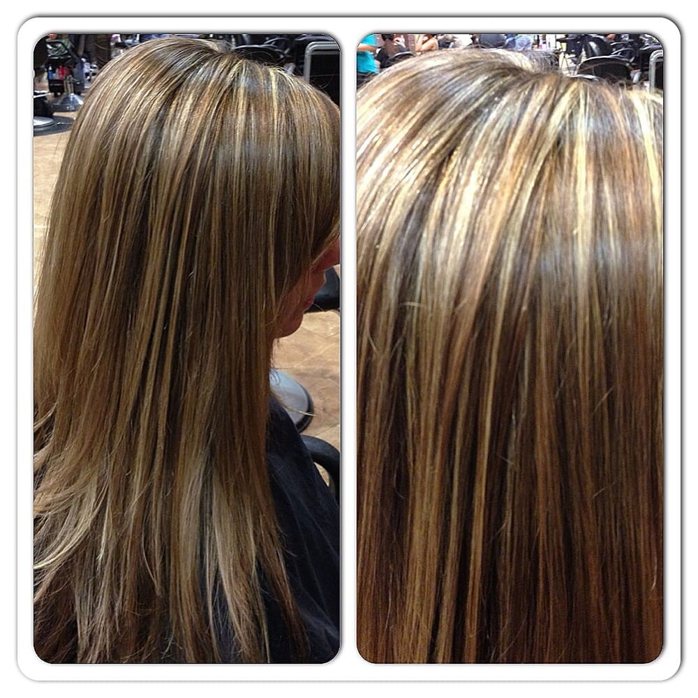 Rich Honey And Caramel Highlights Hair Done By Jennifer Beard Yelp