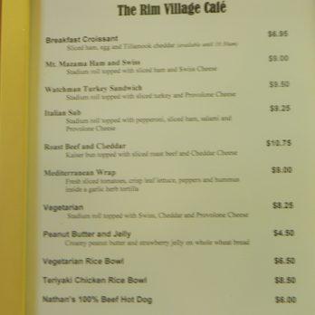 rim village cafe and gift shop - 25 photos & 32 reviews - cafes