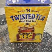 Twisted Tea Mini Keg Keeping It Classy Yelp