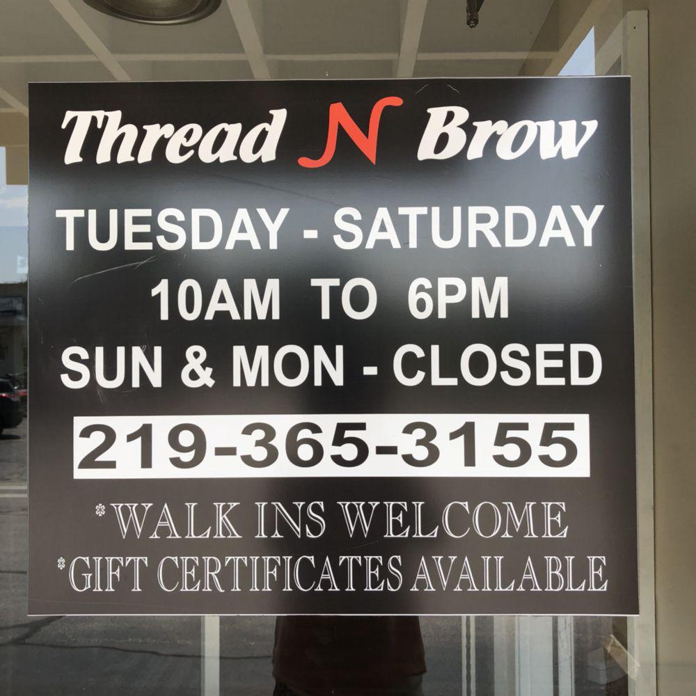 Thread n Brow: 9167 Wicker Ave, Saint John, IN