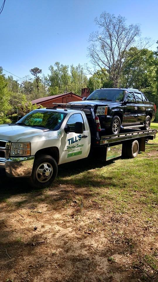 Till's Wrecker Service: 6043 Mobile Rd, Greenville, AL