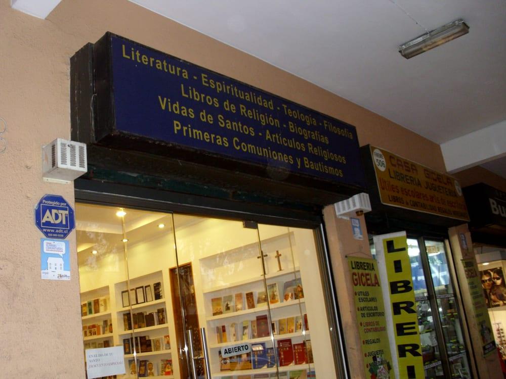 Librer a religiosa librer as freire 508 san bernardo rm santiago yelp - Libreria couceiro santiago ...