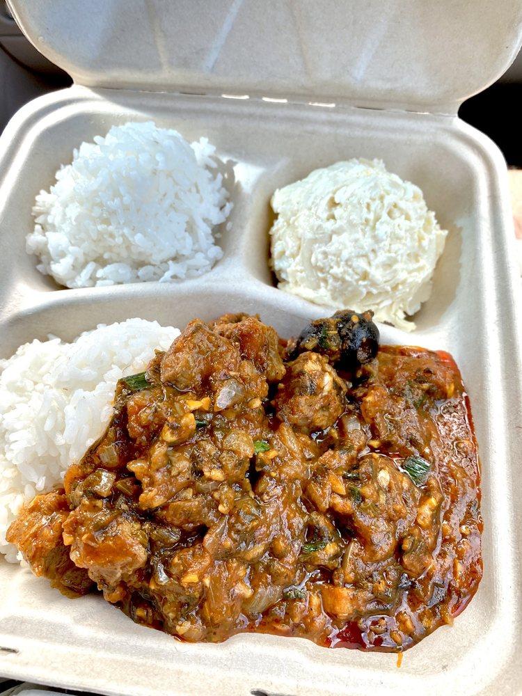 Hawaiian Island Cafe: 41-1537 Kalanianaole Hwy, Waimanalo, HI