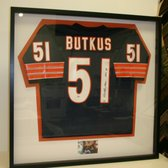 photo of the great frame up kildeer il united states butkus jersey