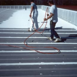 Photo Of Big Metal Roofing   Arlington, TX, United States. Coating  Application After