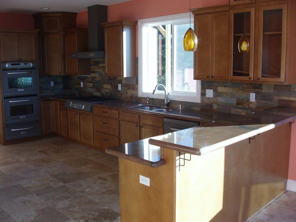18x18 Travertine Floors Granite Slab Custom Cut