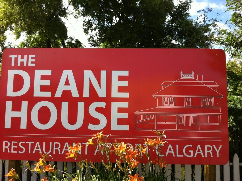 Deane House Restaurant Calgary Ab