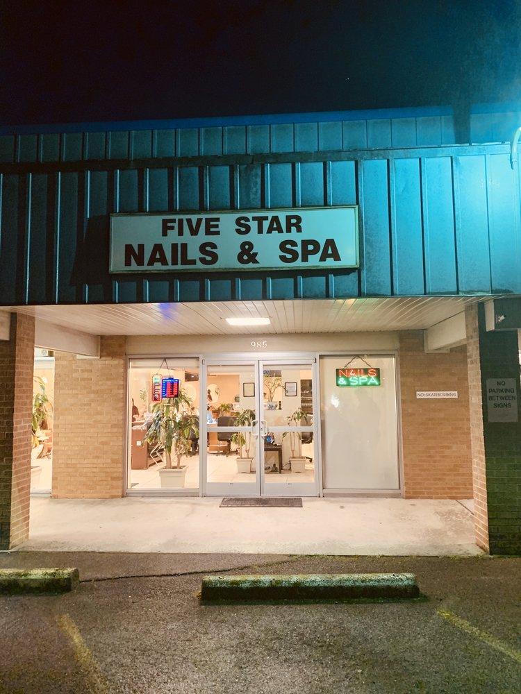 Five Star Nails: 985 Oak Ridge Turnpike, Oak Ridge, TN