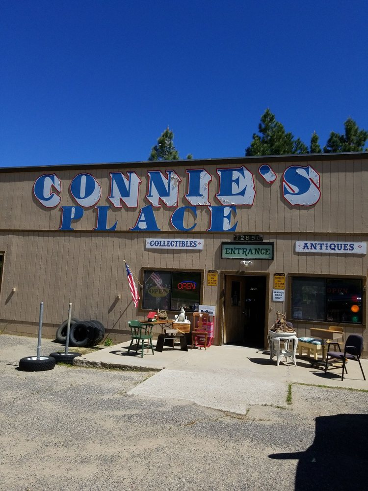 Connie's Place: 72850 Hwy 70, Portola, CA