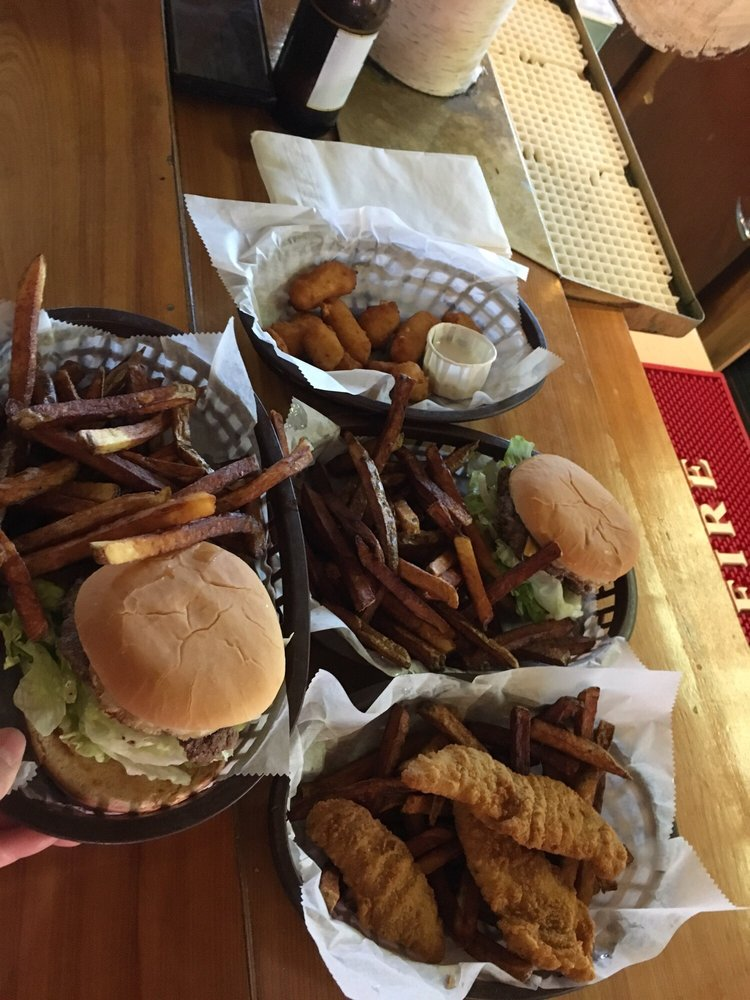 Food from Lumberjack Tavern