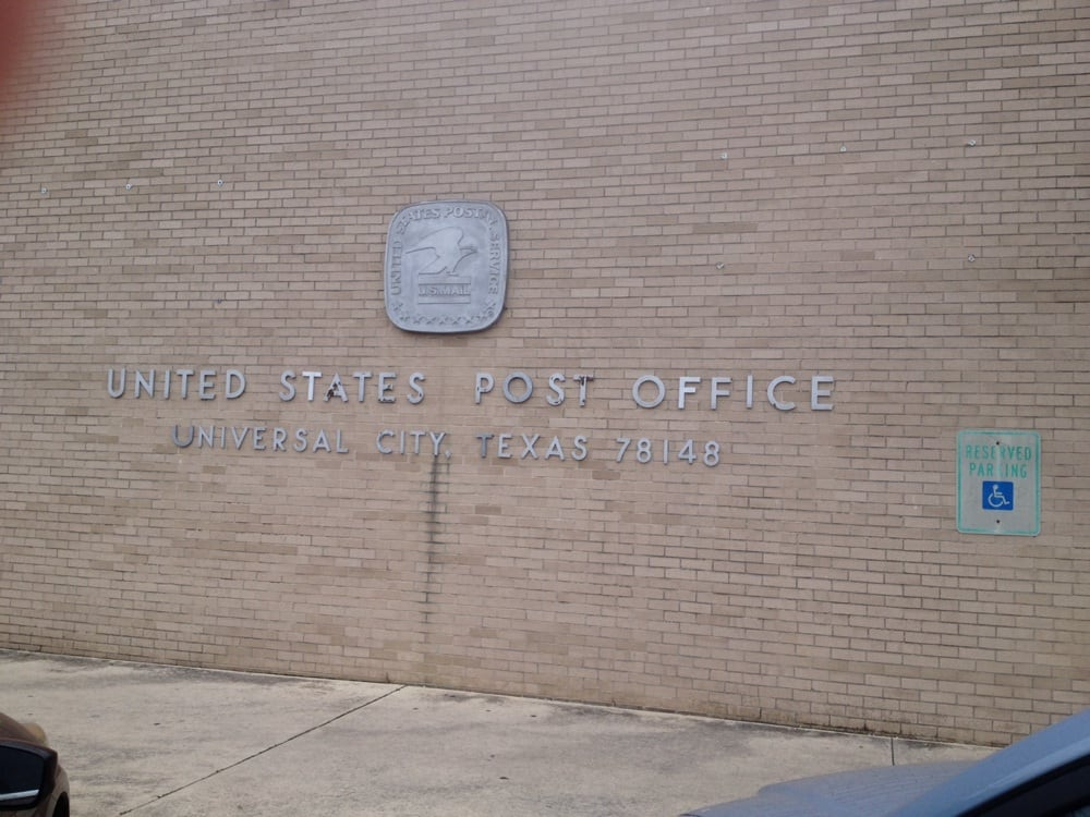 United States Post Office: 830 North Blvd, Universal City, TX