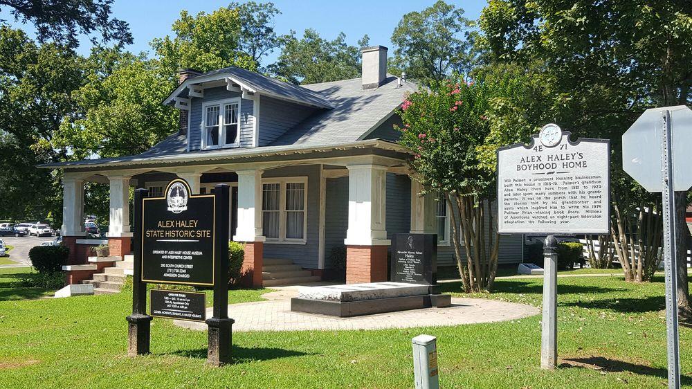 Alex Haley Museum and Interpretive Center: 200 S Church St, Henning, TN
