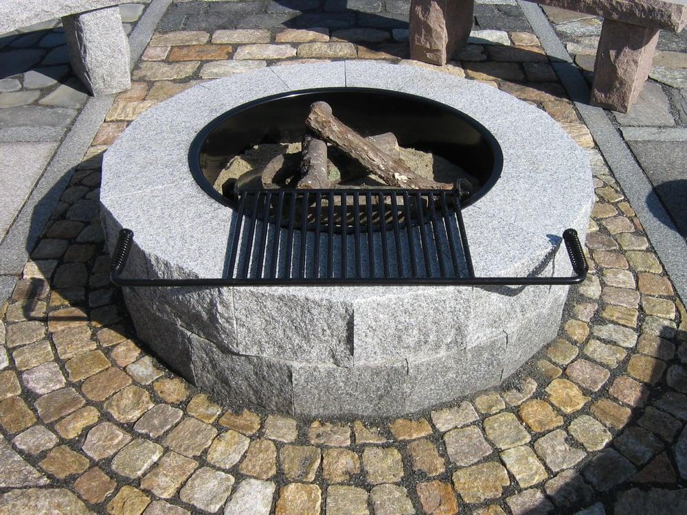 Woodbury Gray Swenson Granite Works Fire Pit Yelp