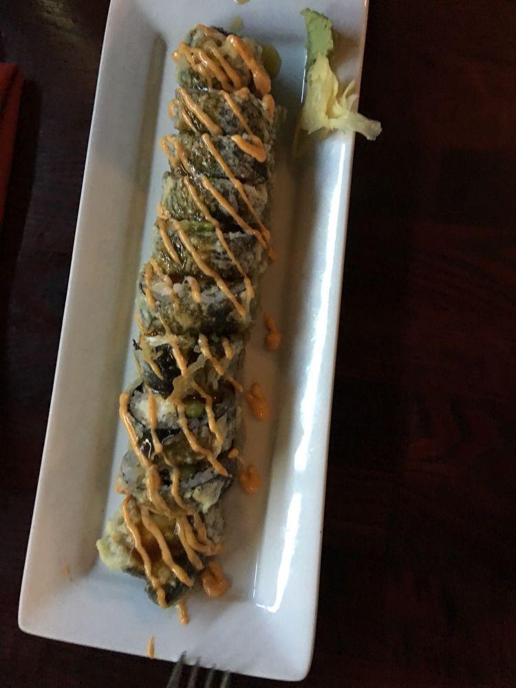 Food from Daimaru Steakhouse & Sushi Bar