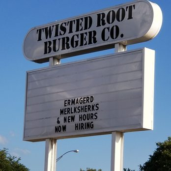 Yelp Reviews for Twisted Root Burger Co - Waco - 511 Photos & 605