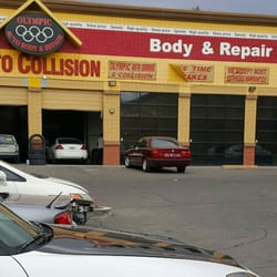 Olympic auto body repair motor mechanics repairers for Motor vehicle body repair