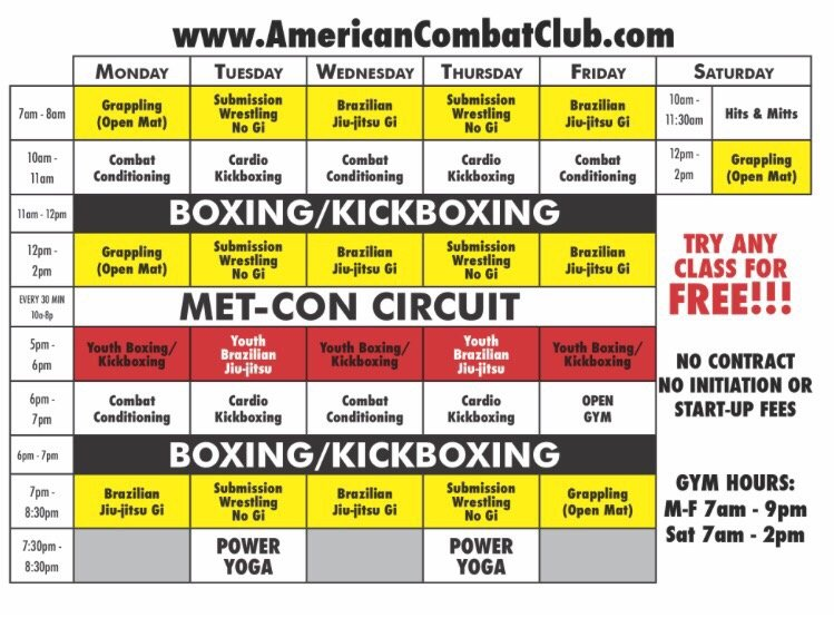 American Combat Club: 1016 W Church St, Orlando, FL