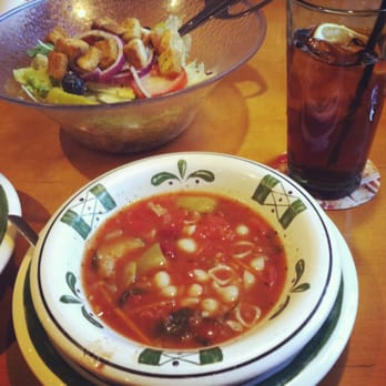 Photo Of Olive Garden Italian Restaurant   Victor, NY, United States.  Minestrone Soup