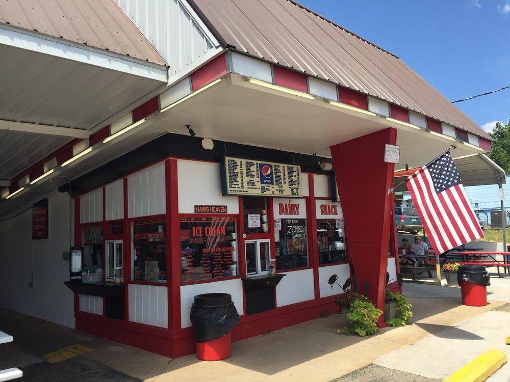 Dairy Shack: 18603 Main St, Eminence, MO