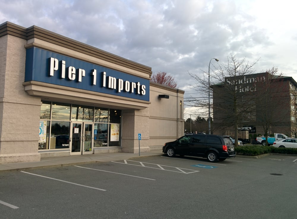 Pier 1 Imports Furniture Stores 9771 Bridgeport Road Richmond Bc Phone Number Yelp