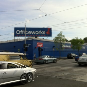 Officeworks  Office Equipment  230 Alexandra Pde Fitzroy