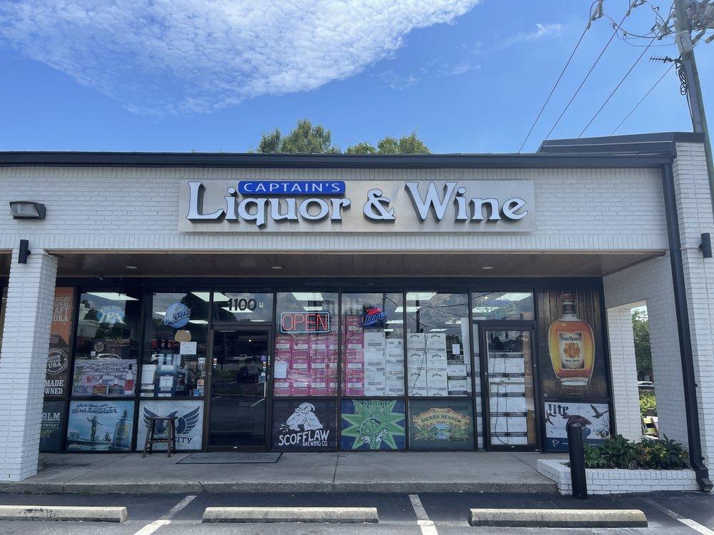Captain's Liquor and Wine