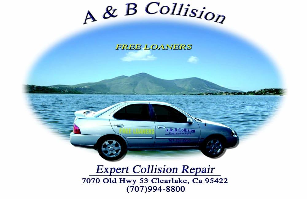 A&B Collision: 9535 HWY 53, Lower Lake, CA