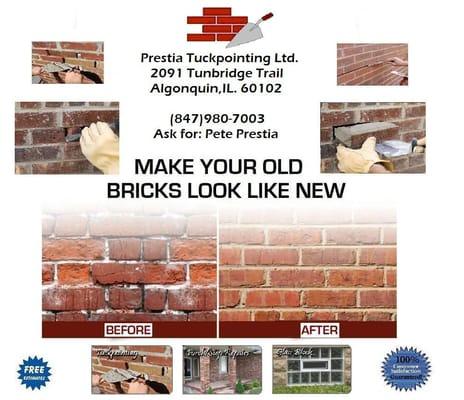 Prestia Tuckpointing Contractors 2091 Tunbridge Trl