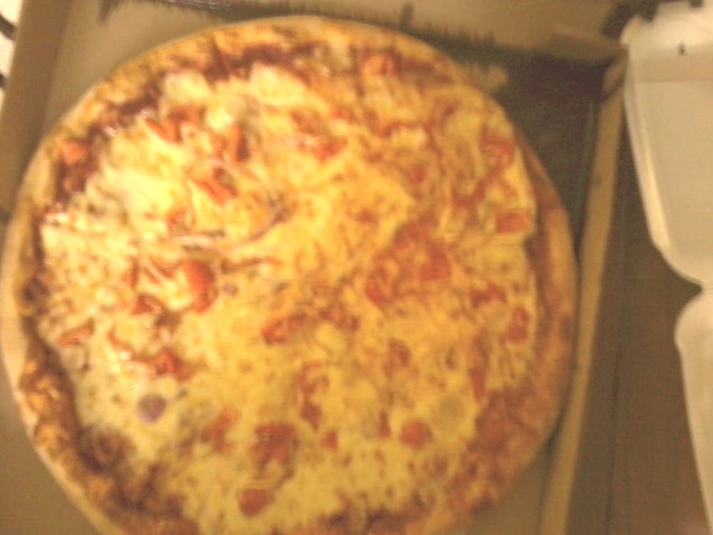 4c70ba4d4f70 The greasiest pizza I ve ever seen. Thanks for the huge stain on my ...