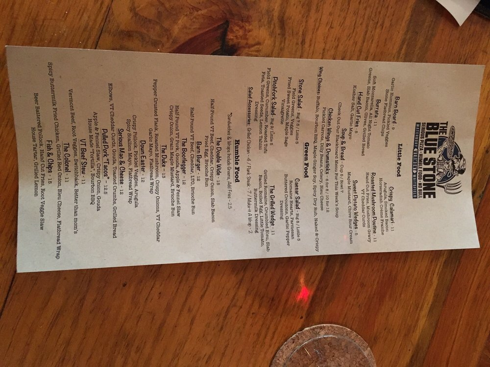 The Blue Stone - 81 Photos & 155 Reviews - Pizza - 15 Stowe