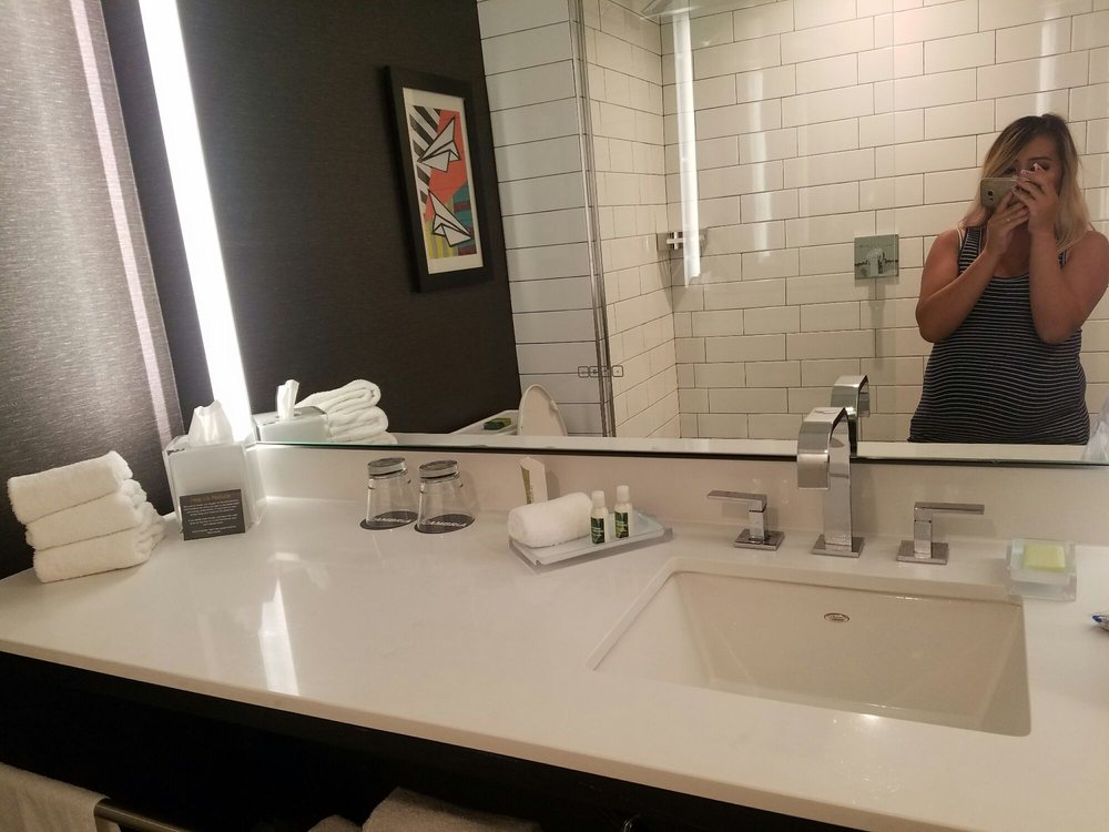 such a nice bathroom mirror with bluetooth you can connect your rh yelp com