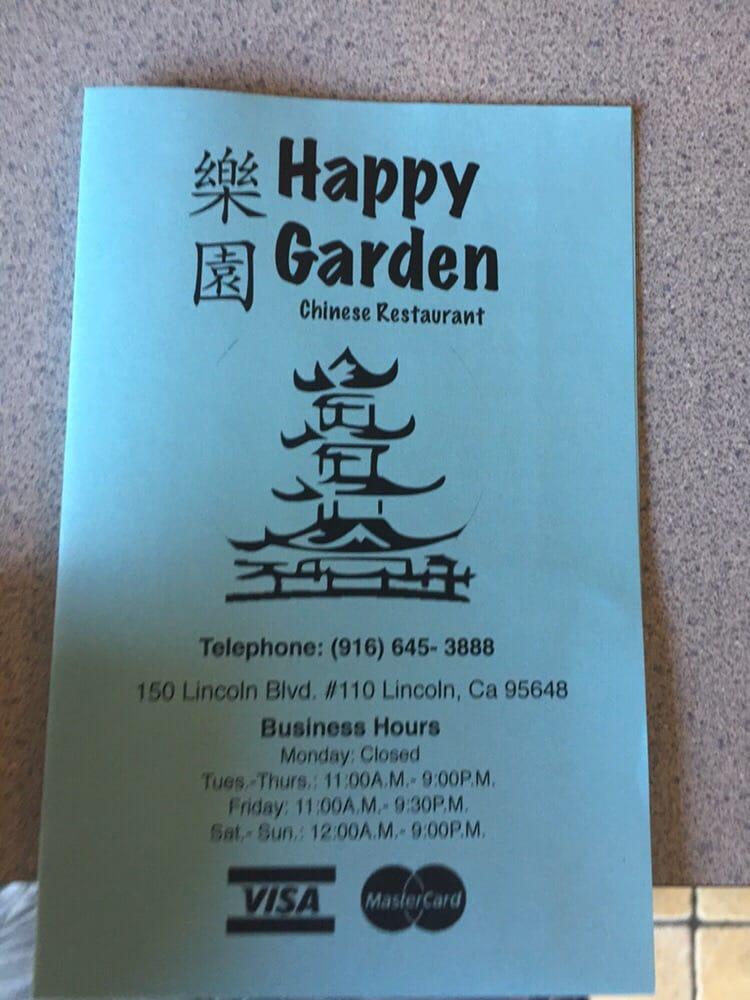 Online Menu Of Hy Garden Restaurant