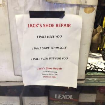 Jack S Shoe Repair Astoria