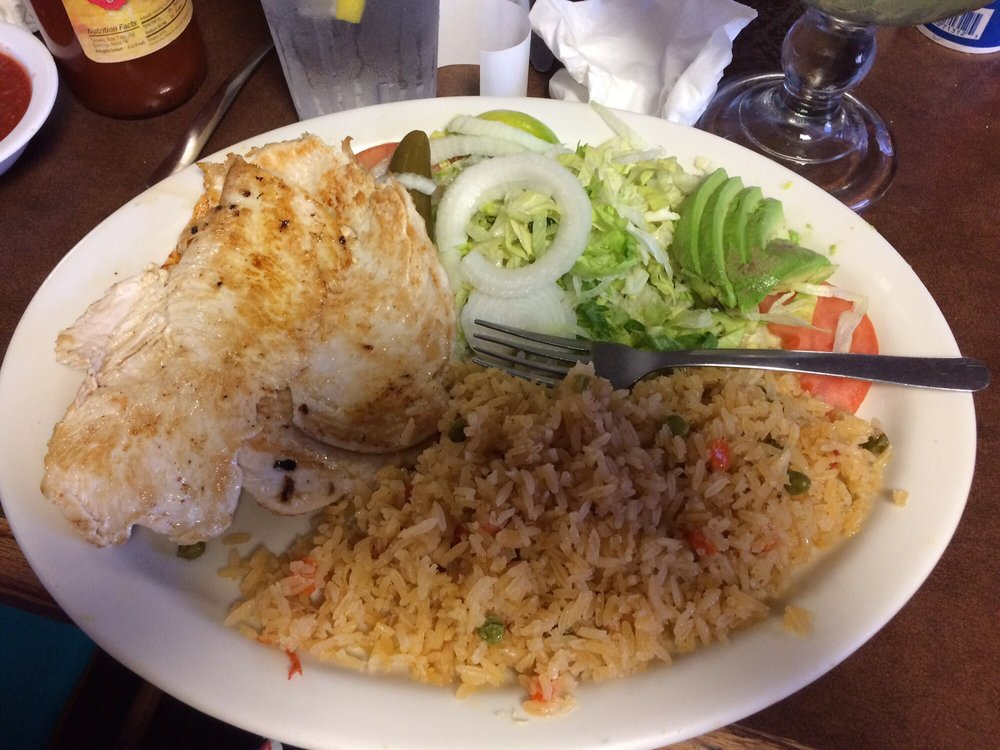 Food from Chilango's Mexican Restaurant