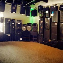 Great Photo Of Pro Audio And Lighting   Warren, MI, United States. Speaker Wall Photo