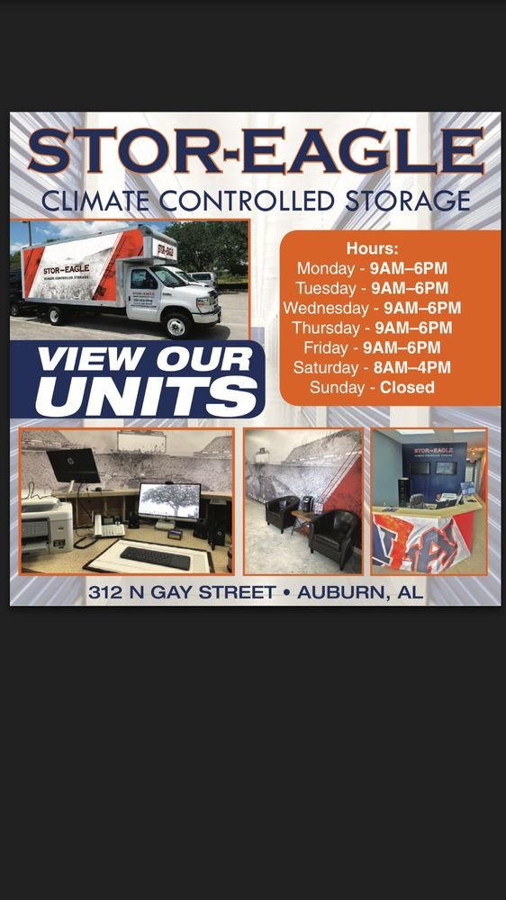 Stor-Eagle Storage - Self Storage - 312 N Gay St Auburn AL - Phone Number - Yelp & Stor-Eagle Storage - Self Storage - 312 N Gay St Auburn AL - Phone ...