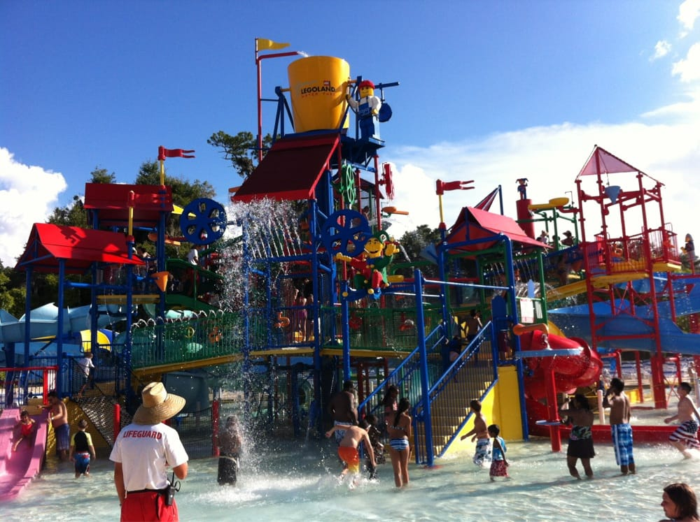 Water playground, Legoland Water Park. - Yelp