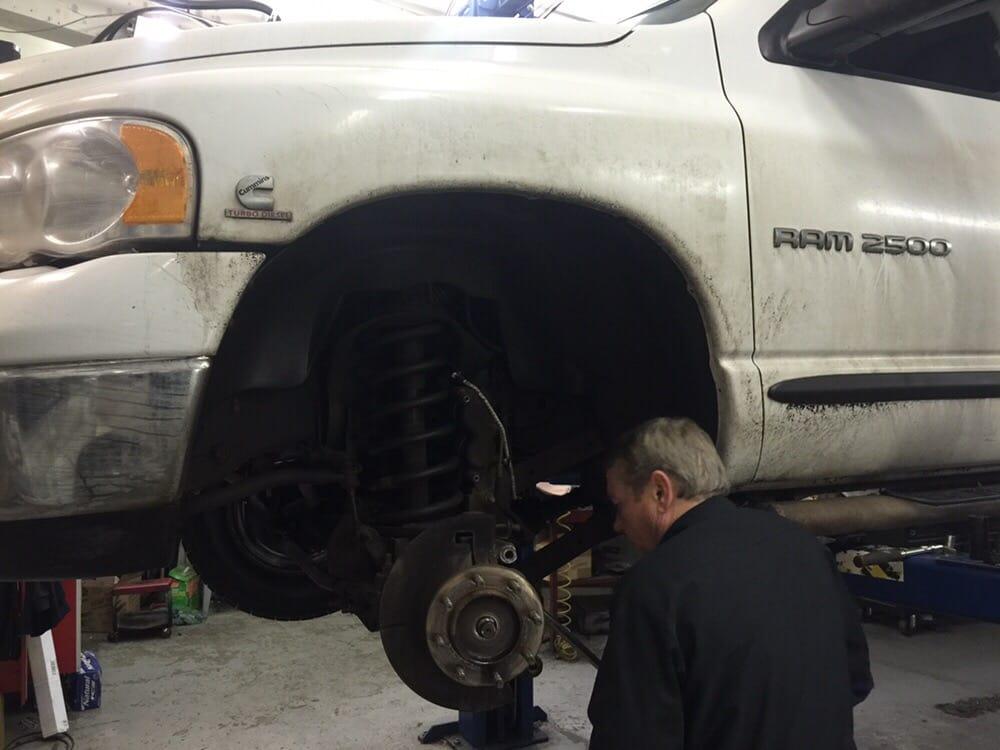 Jim Our Senior Mechanic Hard At Work Yelp