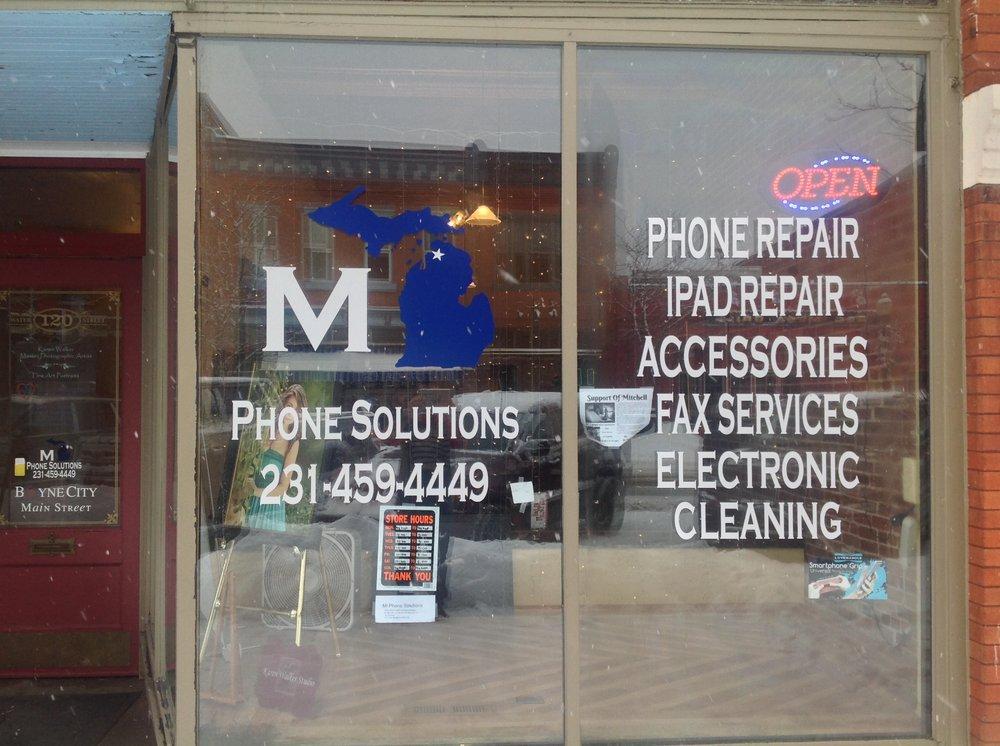 Mi Phone Solutions: 120 Water St, Boyne City, MI