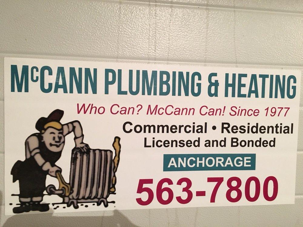 McCann Plumbing & Heating: 2937 Crows Nest Cir, Anchorage, AK