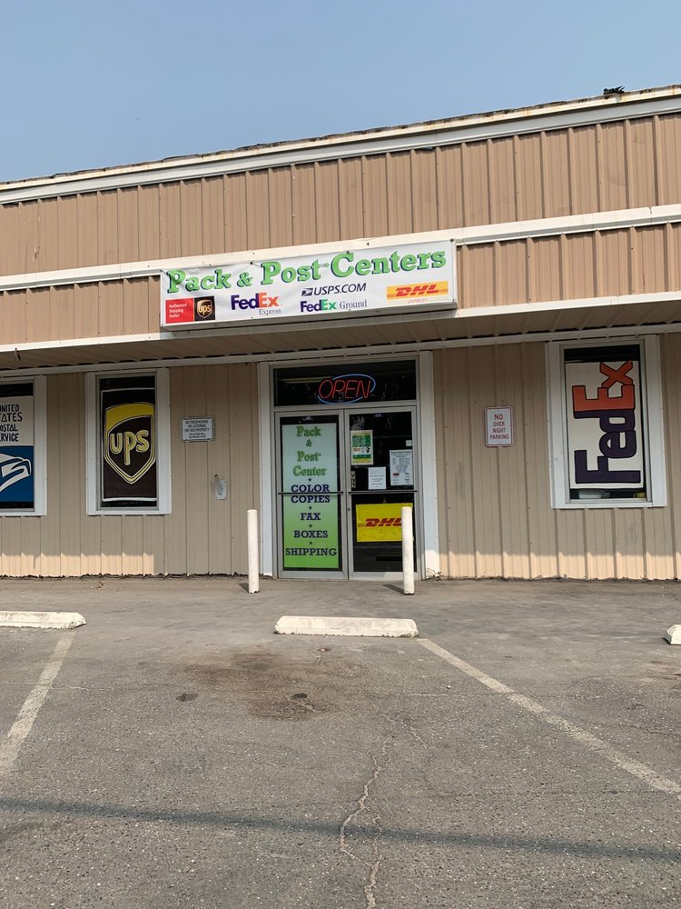 Pack and Post Center: 937 N Beale Rd, Marysville, CA