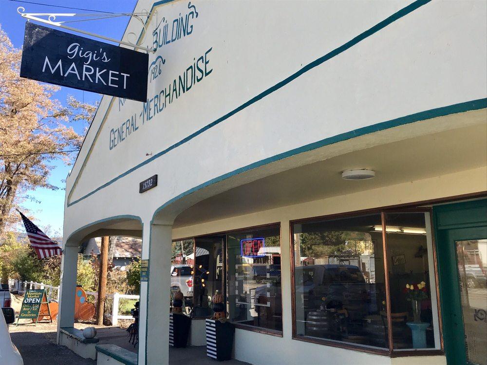 Gigi's Market: 15792 Hwy 89, Crescent Mill, CA