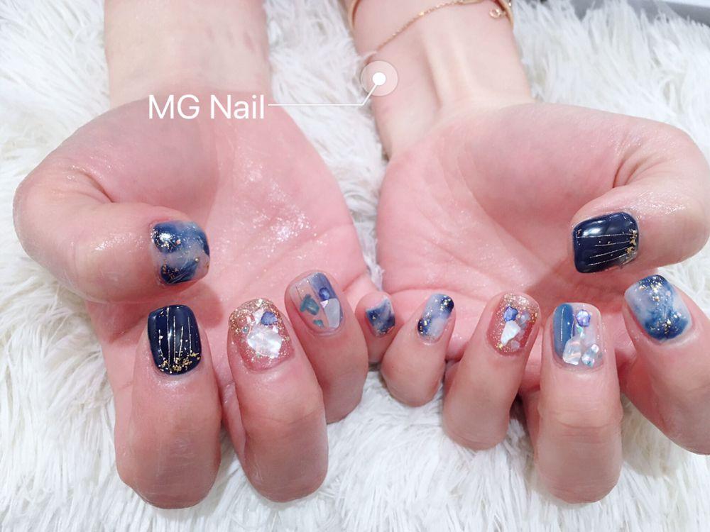 Mg Nail Eyelashes & Brow Spa: 133-16 39th Ave, Queens, NY