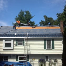 Photo Of Adam Vaillancourt Roofing   Milford, NH, United States. Roof Being  Prepped ...
