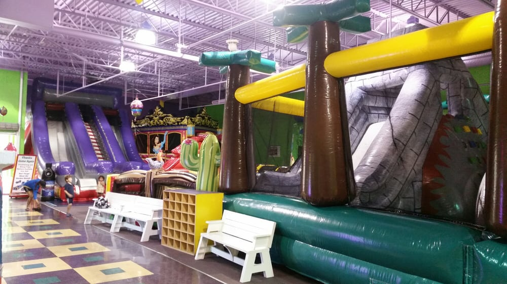 Bounce around indoor family fun center party equipment for Indoor fun for kids near me