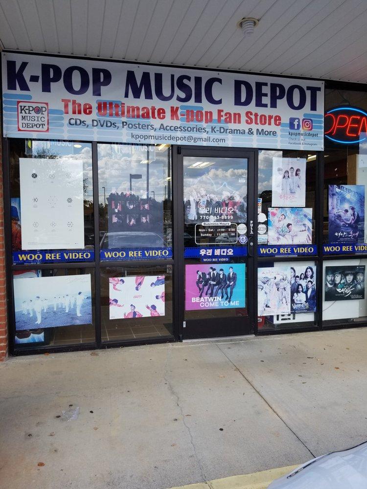 k-pop music depot: 1197 Old Peachtree Rd NW, Suwanee, GA