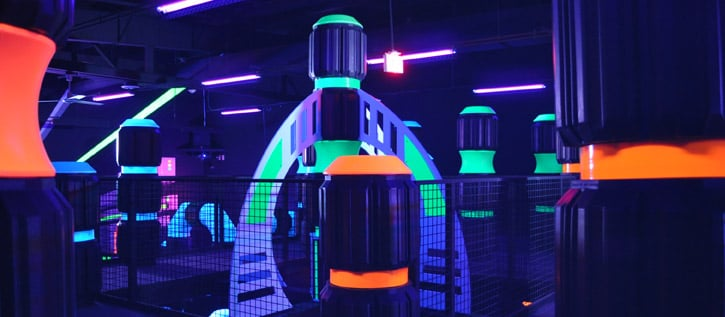 State Of The Art Multi Level Laser Tag Arena Yelp
